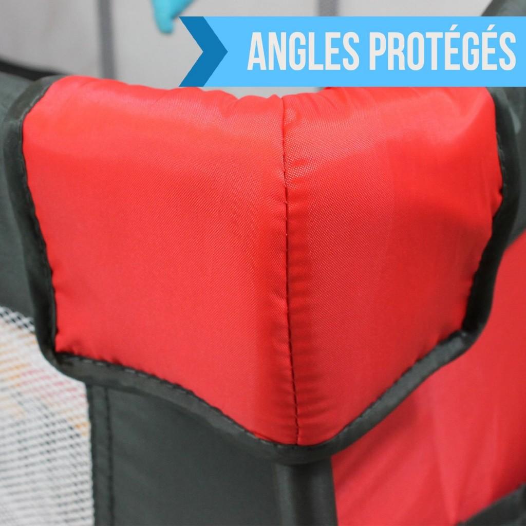 Protection maximale pour le lit parapluie bébé