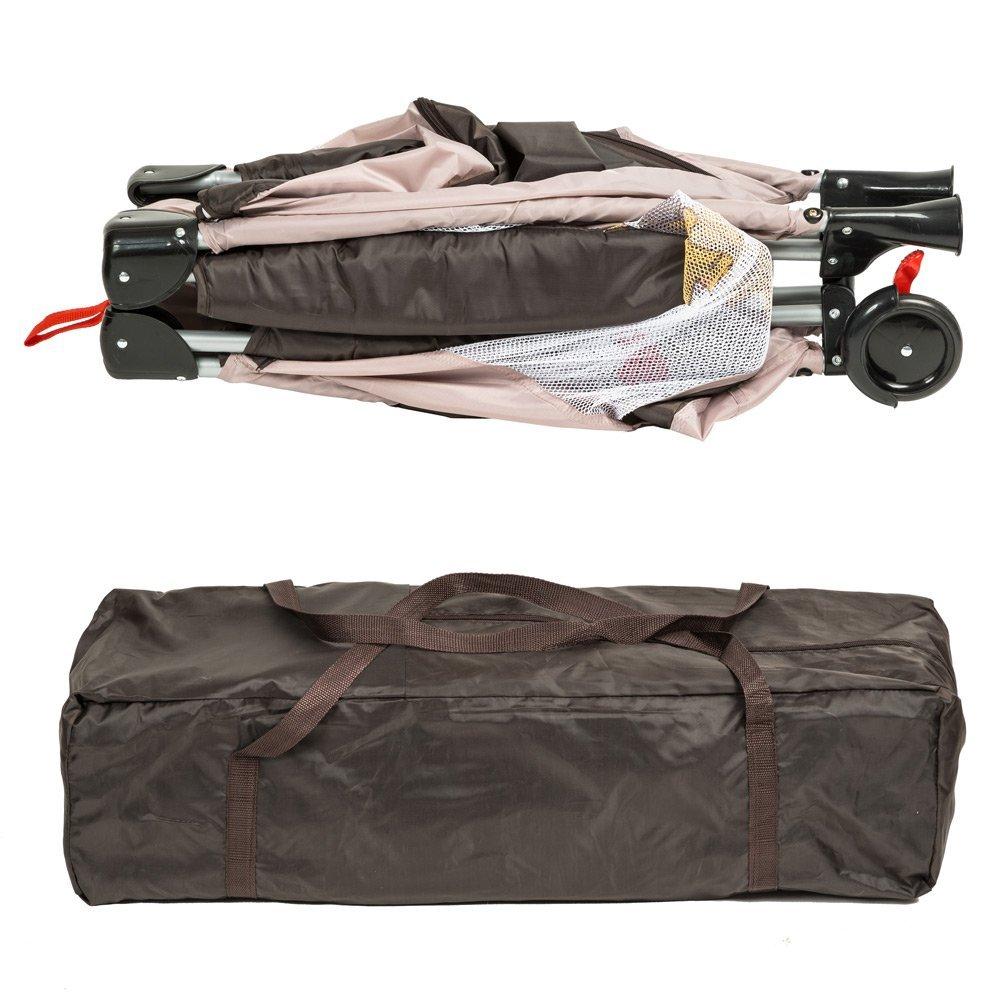 Un lit parapluie ne doit pas être trop encombrant pour voyager